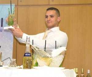 Sieger Saim UCAK von der Berufsschule für Gastgewerbe Wien